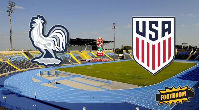 Франция (U-20) - США (U-20): ставим на результативность матча