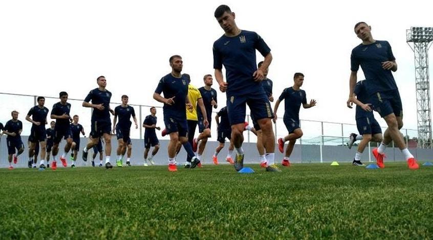 Збірна України: у занятті взяли участь усі 25 гравців