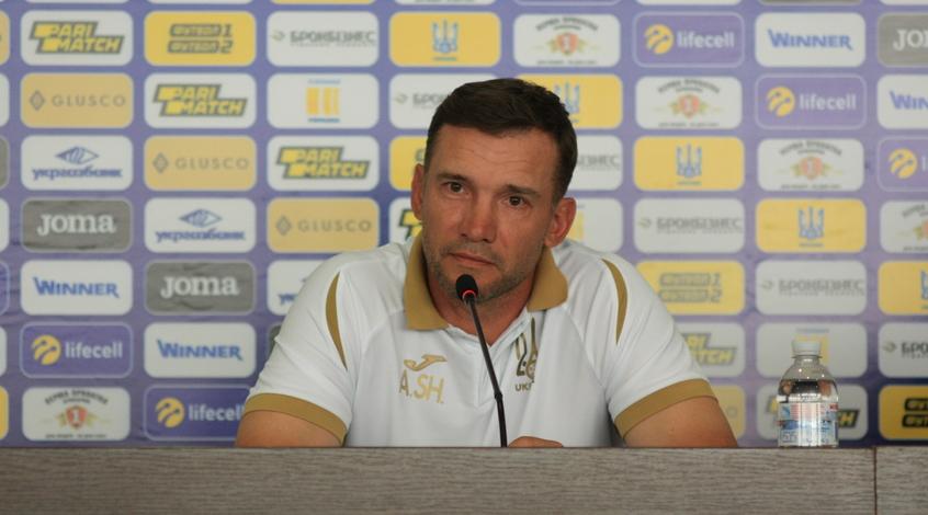 Пресс-конференция Андрея Шевченко накануне матчей с Сербией и Люксембургом