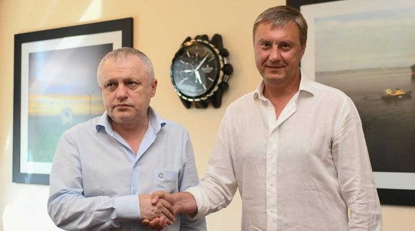 """Игорь Суркис: """"Я сказал Хацкевичу: """"Александр Николаевич, отдыхайте"""""""