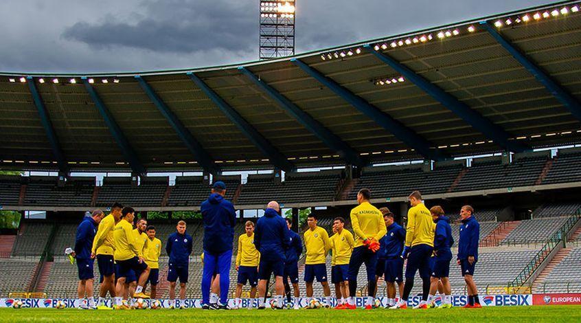 Бельгия – Казахстан: где смотреть онлайн матч отбора к Евро 09.06.2019