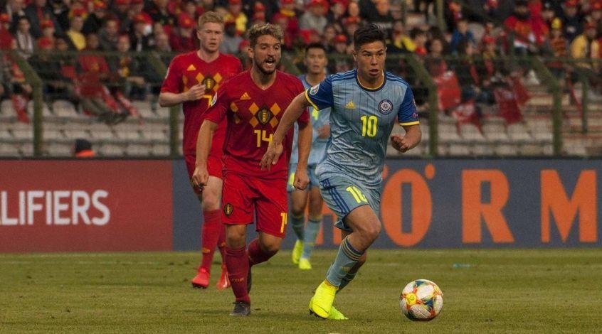 Бельгия – Казахстан 3:0. Бенефис Непогодова и шоу Мертенса в юбилей Азара