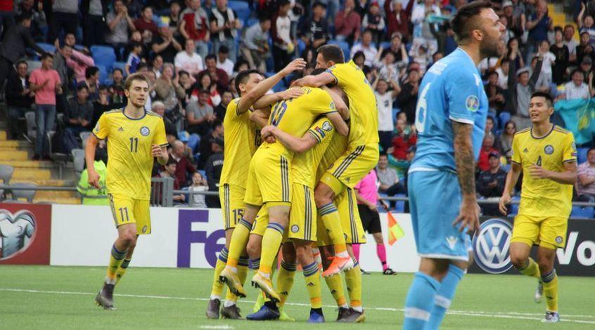 Казахстан – Сан-Марино 4:0. Поправили разницу