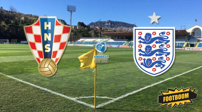 Хорватия (U-21) - Англия (U-21). Анонс и прогноз матча