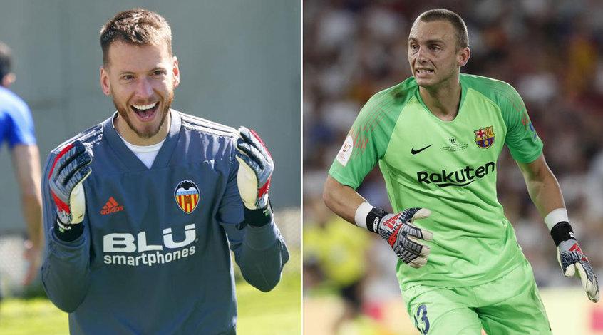 """""""Барселона"""" и """"Валенсия"""" планируют провести обмен вратарями"""