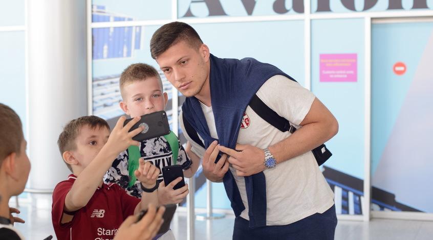 Йович избежал серьёзной травмы и останется в расположении сборной Сербии