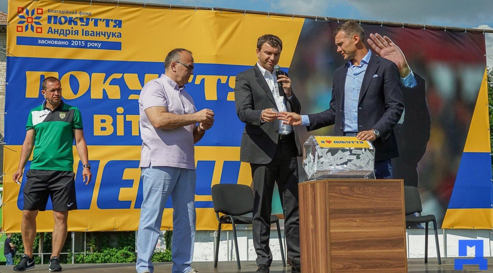 Андрій Шевченко відвідав Прикарпаття (Фото)