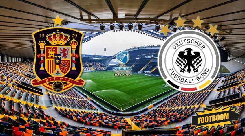 Испания (U-21) - Германия (U-21). Анонс и прогноз матча