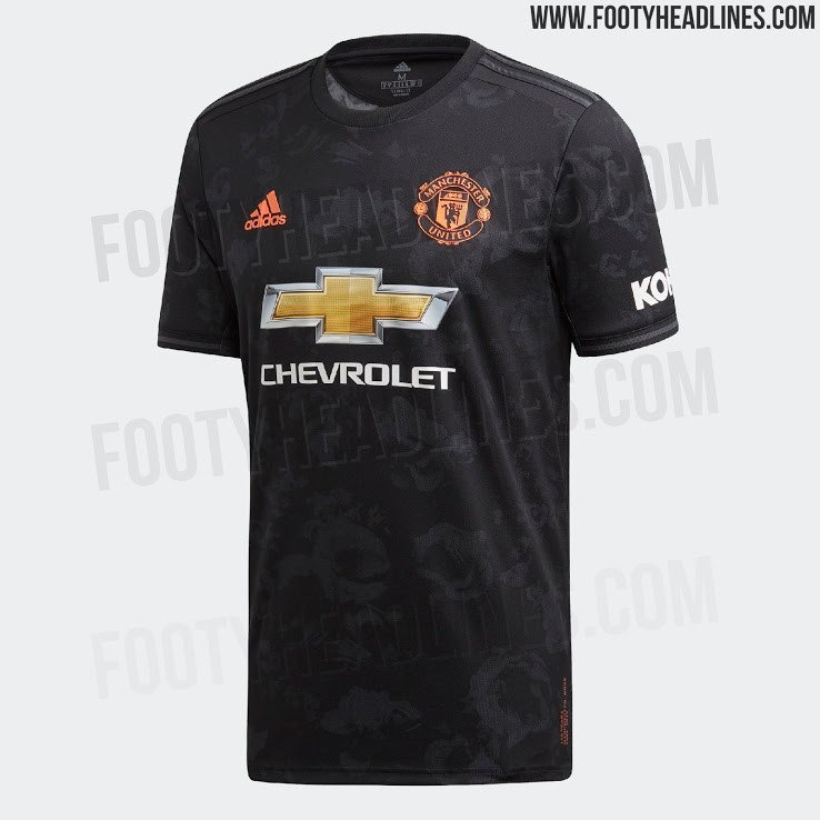 "Третья форма ""Манчестер Юнайтед"" - с узорами из роз (Фото) - изображение 1"
