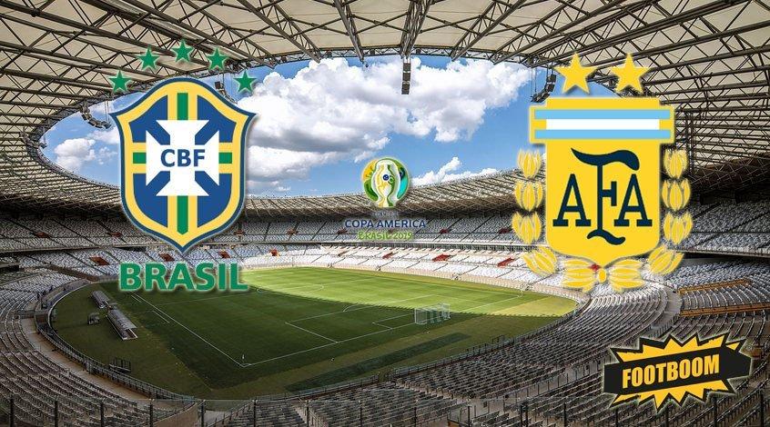 Бразилия - Аргентина 2:0. Аргентинское невезение