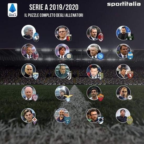 А правда, что в Серии А 2019/20 подобрался сильнейший тренерский состав за последние годы? - изображение 1