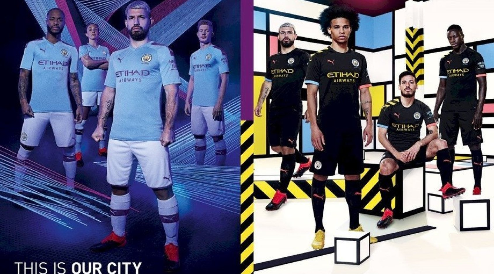"""Манчестер Сити"" представил новую форму в крутом ролике с участием Зинченко (Видео)"