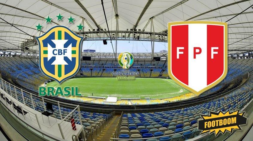 Бразилия - Перу 3:1. Девятикратные!