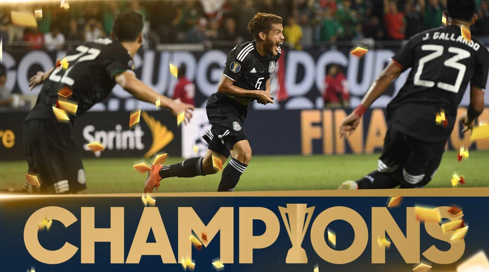 Мексика выиграла Золотой кубок КОНКАКАФ