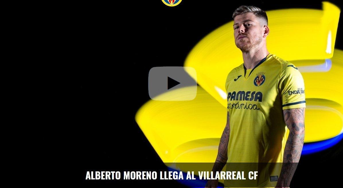 """Альберто Морено перешел из """"Ливерпуля"""" в """"Вильярреал"""" - изображение 1"""
