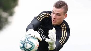"СМИ: ""Реал"" занялся поисками нового клуба для Андрея Лунина"