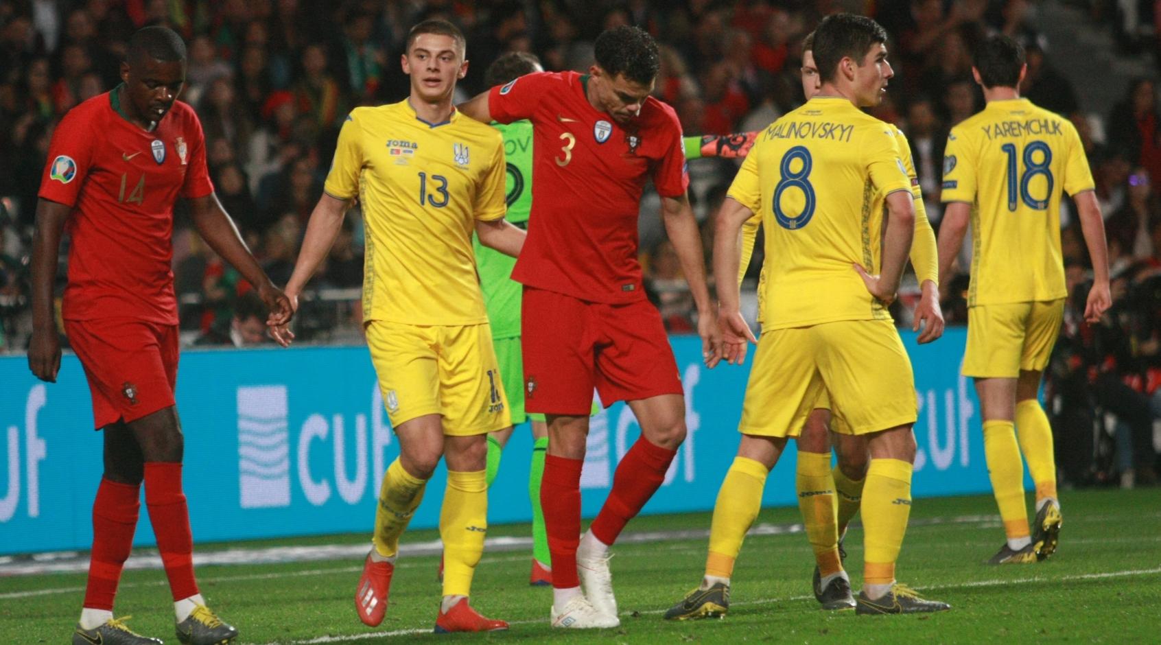 """Віталій Миколенко: """"Від Роналду залишилися забої на гомілкостопі та коліні"""""""