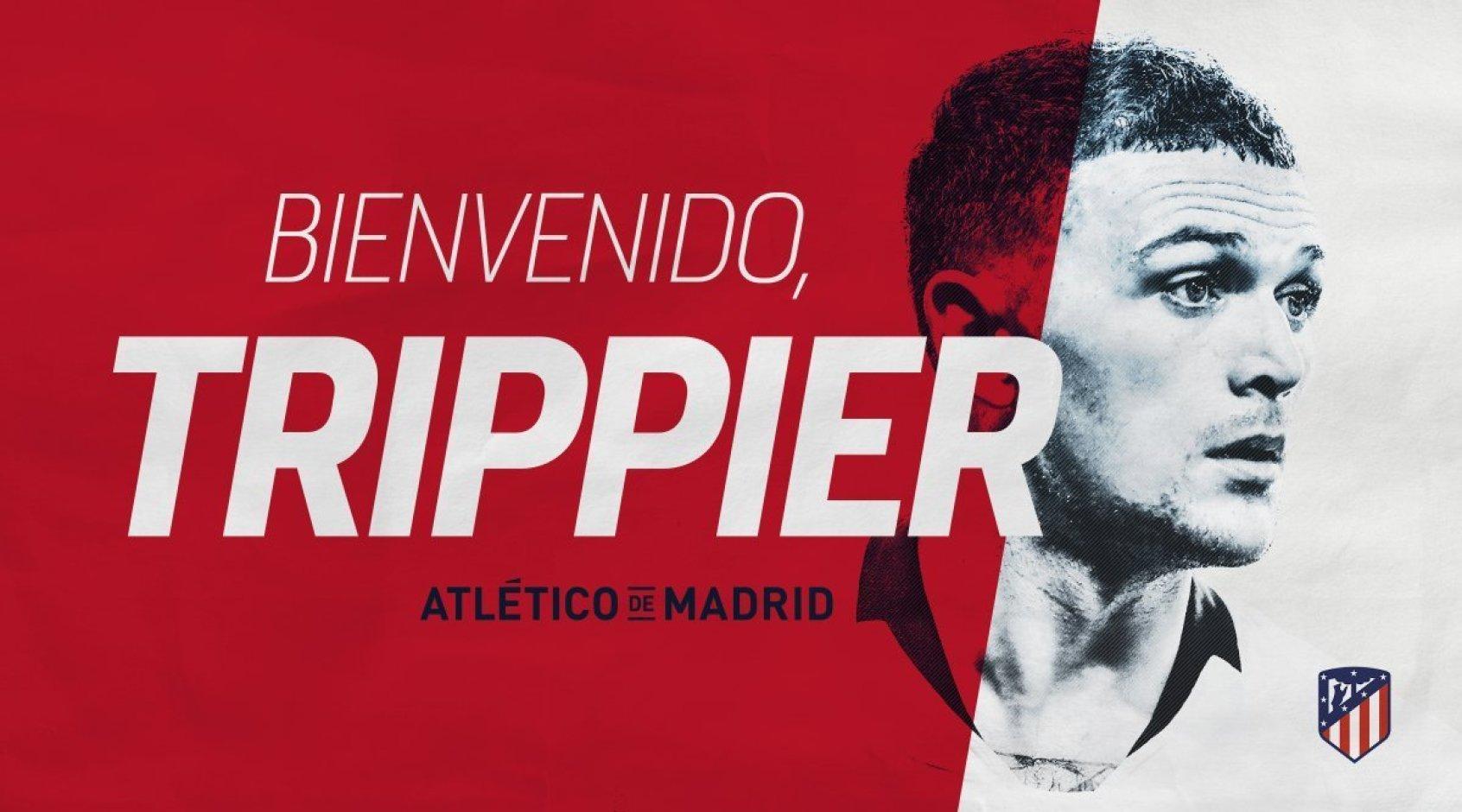 """Официально: """"Атлетико"""" объявил о подписании Триппьера"""