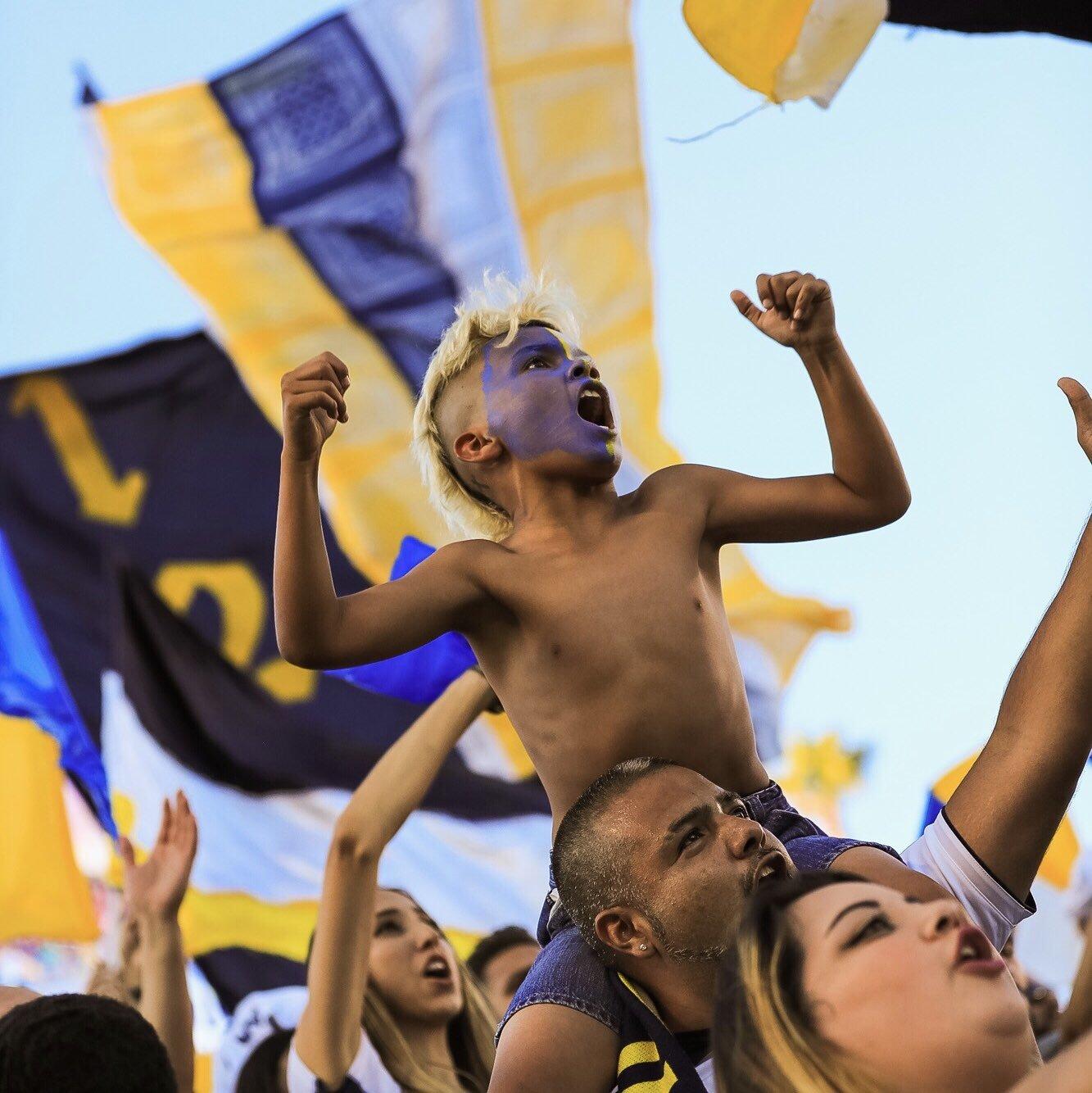 """Фото дня: эмоции юного фаната """"Лос-Анджелес Гэлакси"""" - изображение 1"""