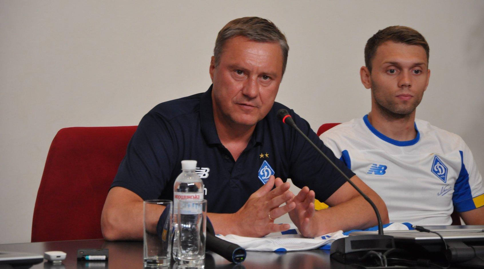 "Александр Хацкевич: ""Я рад, что Караваев и Кадири в нашей команде"""