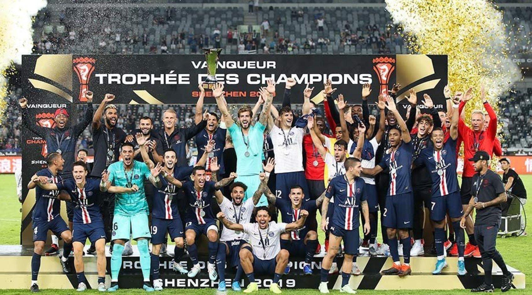 После матча Суперкубка Франции Мбаппе не позволил Неймару сфотографироваться с командой