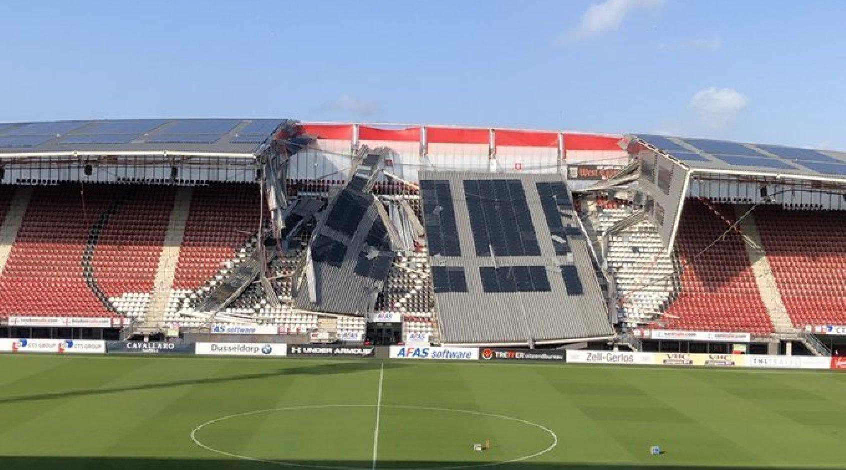 Руководство АЗ сделало официальное заявление относительно матчей на обрушившемся стадионе