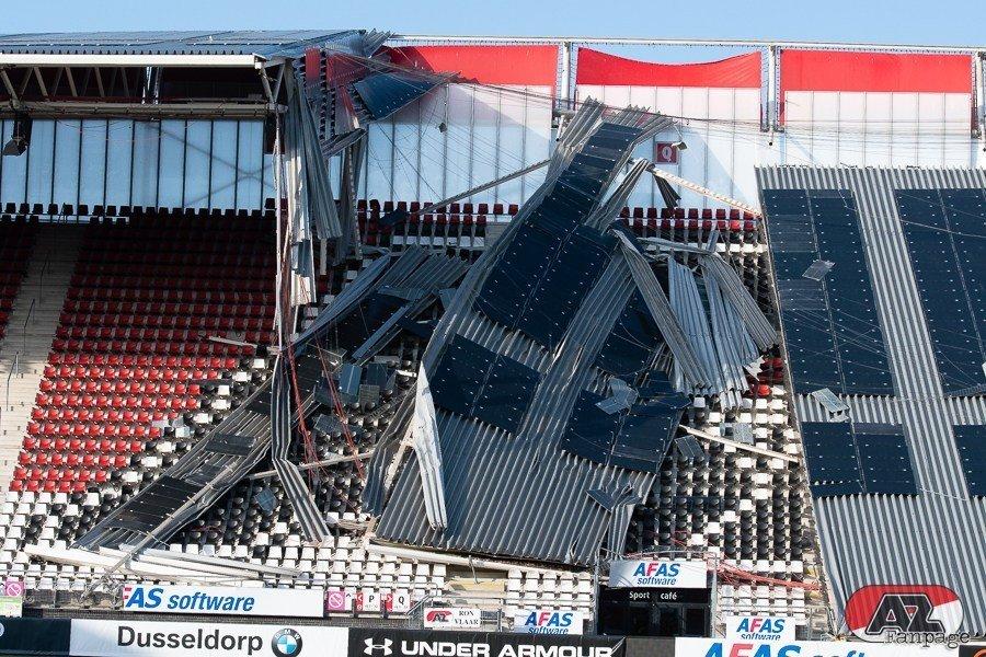 Обрушение крыши на стадионе АЗ: когда вопросов больше, чем ответов (+Фото, Видео) - изображение 2