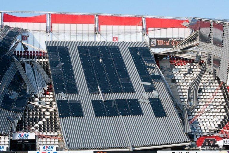 Обрушение крыши на стадионе АЗ: когда вопросов больше, чем ответов (+Фото, Видео) - изображение 5