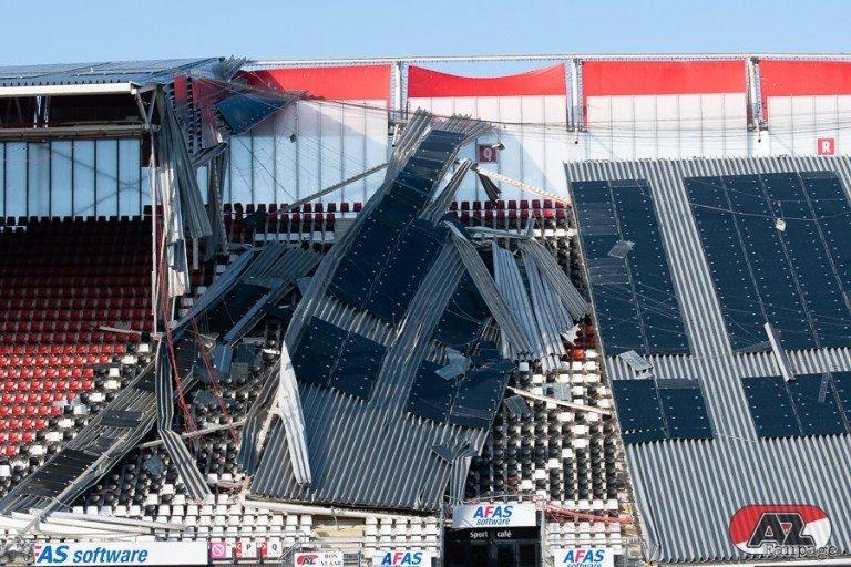 Обрушение крыши на стадионе АЗ: когда вопросов больше, чем ответов (+Фото, Видео) - изображение 6