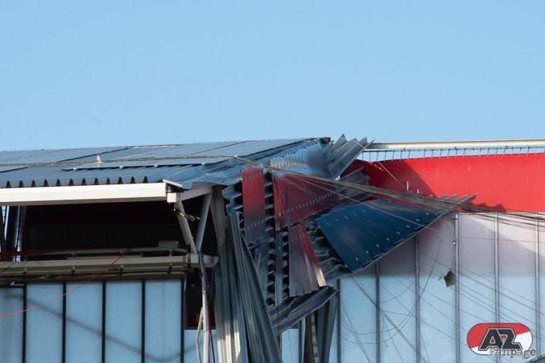Обрушение крыши на стадионе АЗ: когда вопросов больше, чем ответов (+Фото, Видео) - изображение 7
