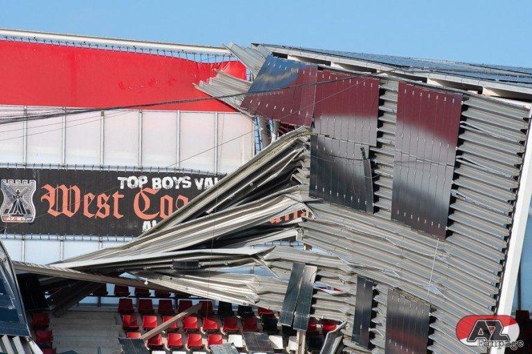 Обрушение крыши на стадионе АЗ: когда вопросов больше, чем ответов (+Фото, Видео) - изображение 9