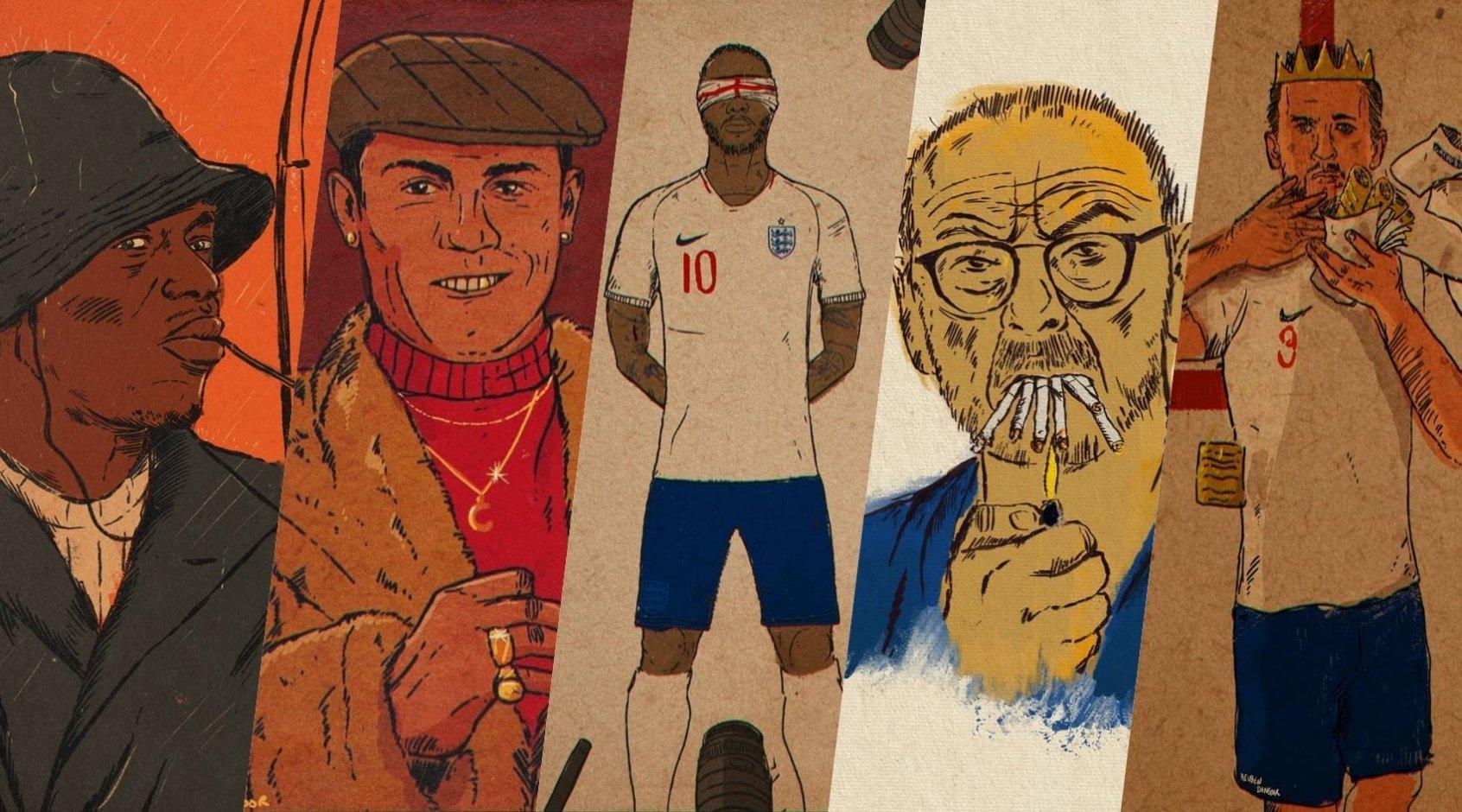 Футбольные художники: Рубен Дангоор. Художник стиля 70-х, поклонником которого является Гарет Саутгейт