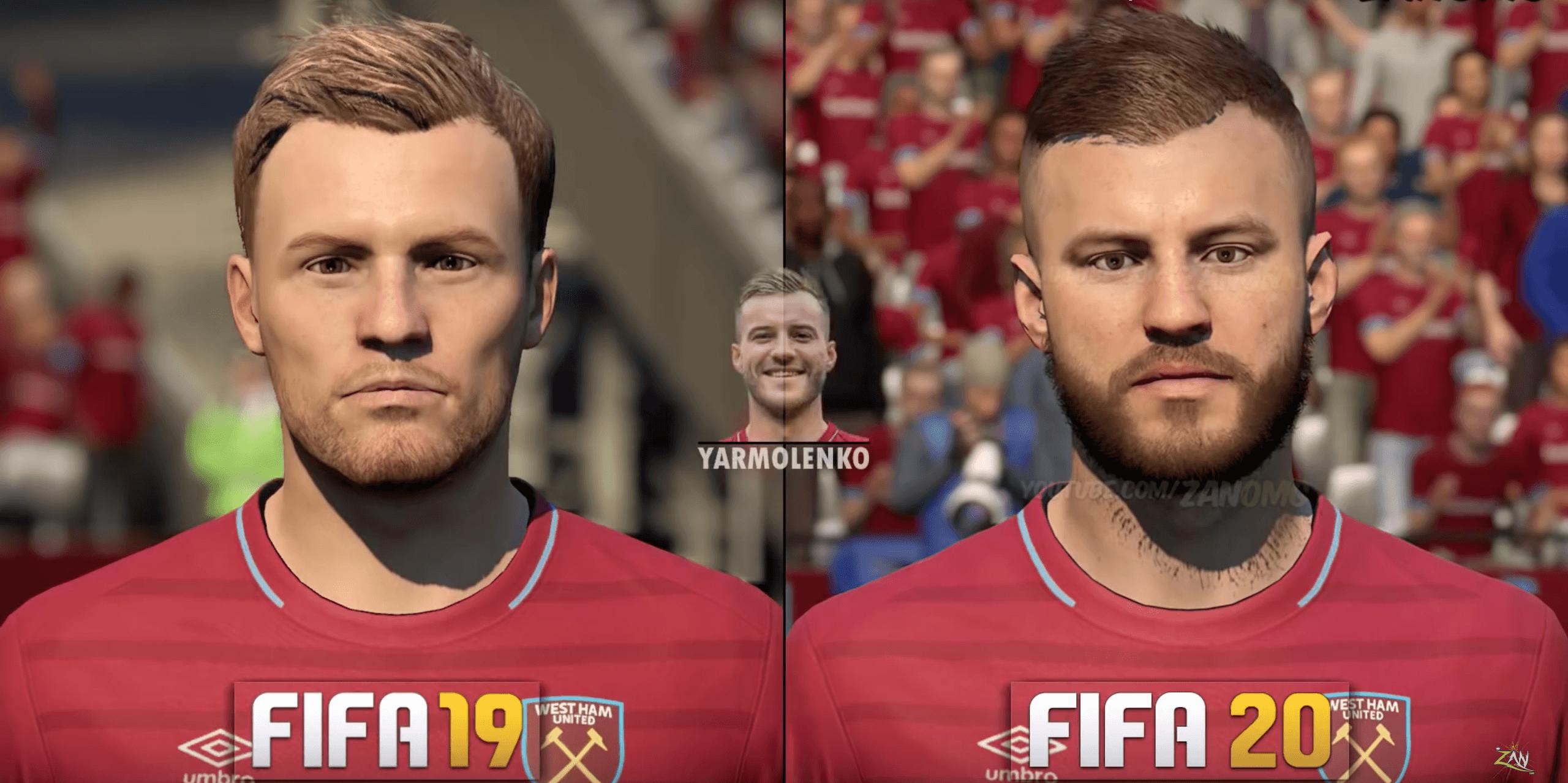 Евгений Коноплянка и Андрей Ярмоленко получат реальные лица в FIFA 20 (Фото) - изображение 3