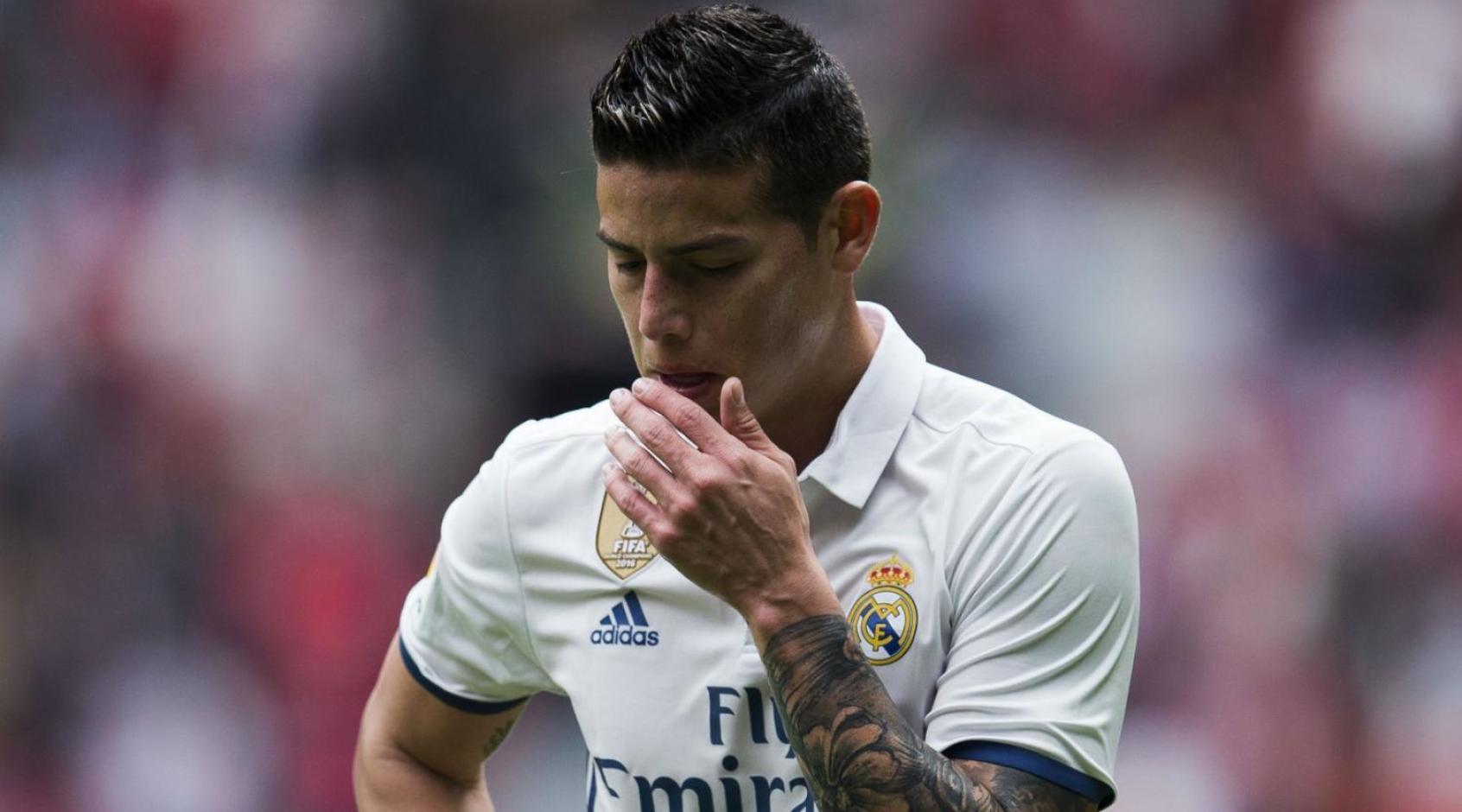 """Хамес Родригес может стать частью сделки по трансферу Н'Голо Канте в """"Реал"""""""