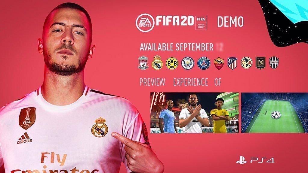Демо-версия FIFA 20 выйдет 12-го сентября, будет доступно 10 команд - изображение 1