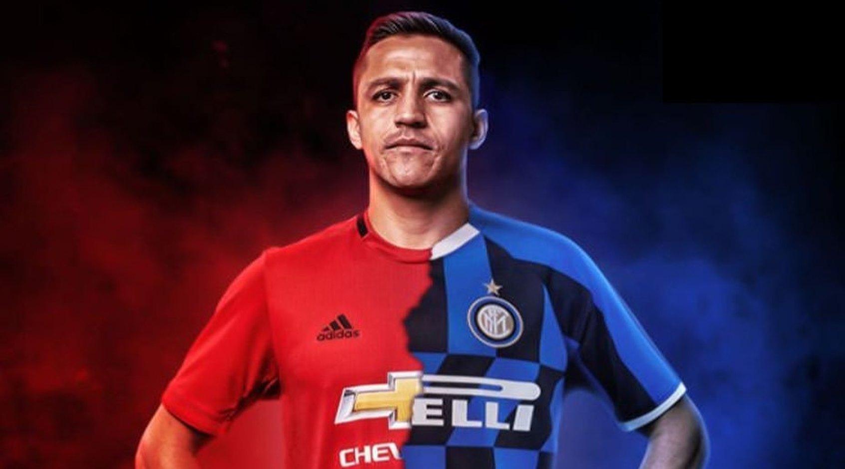 """Алексис Санчес прибыл в Милан и пройдет медосмотр в """"Интере"""" (Видео)"""