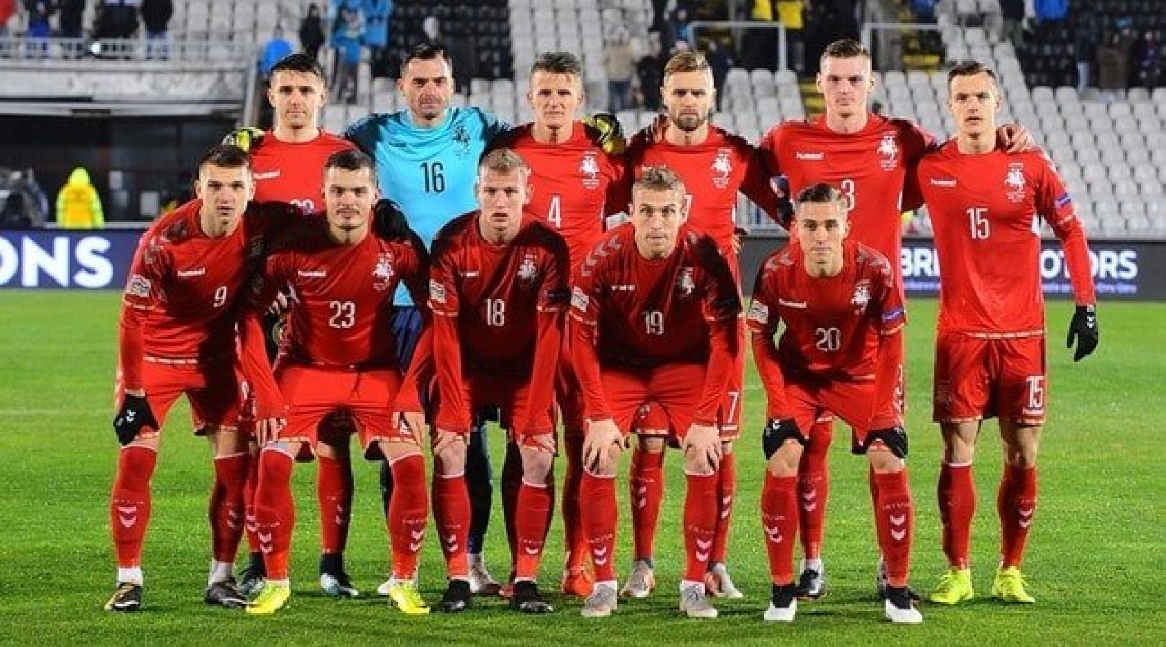 Збірна Литви оголосила склад на матчі відбору Євро-2020 з Україною та Португалією