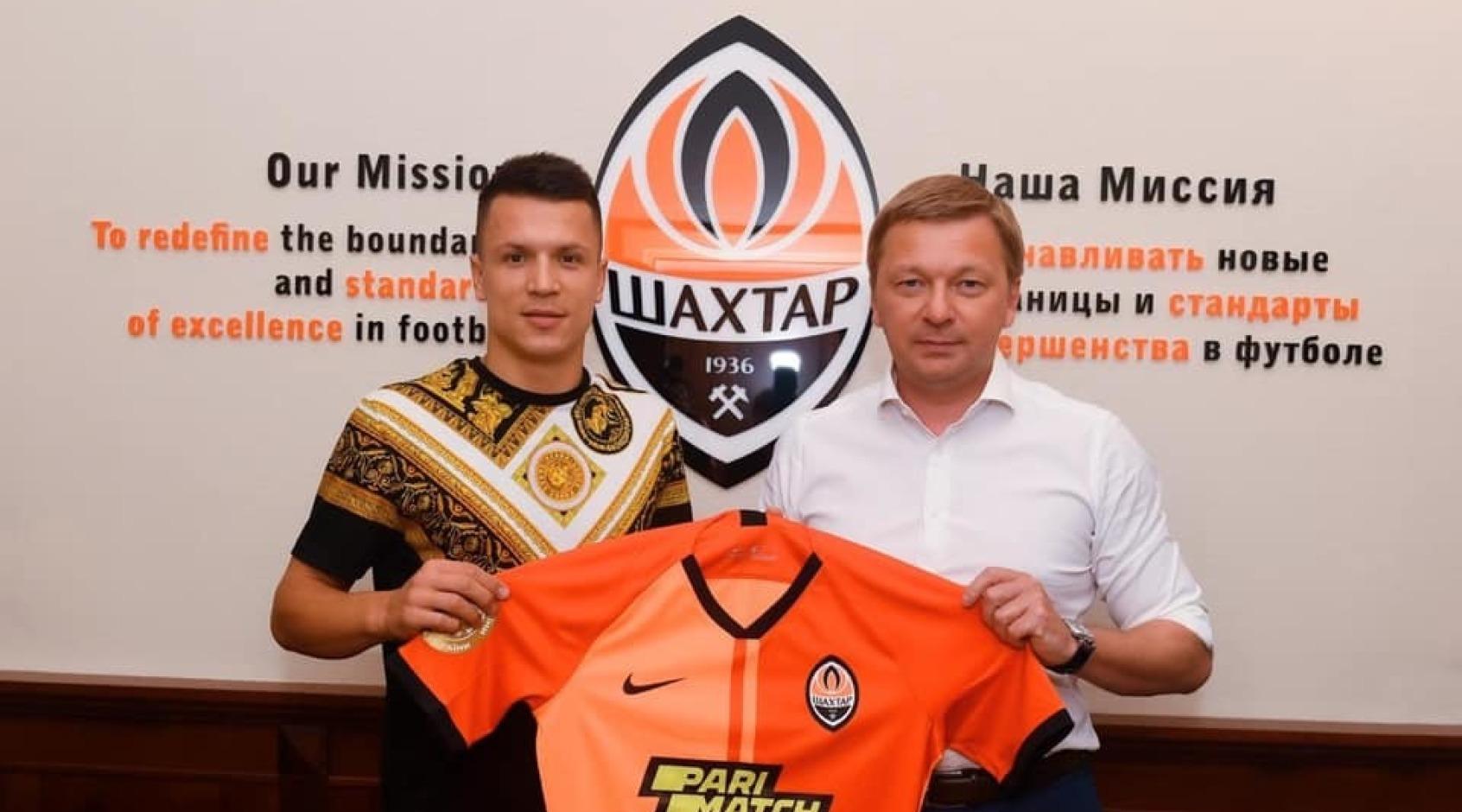 """""""Шахтер"""" сегодня официально представит Евгения Коноплянку и Витао"""