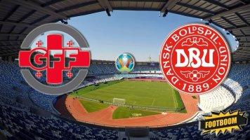 Отбор к Евро-2020. Грузия - Дания 0:0 (Видео)