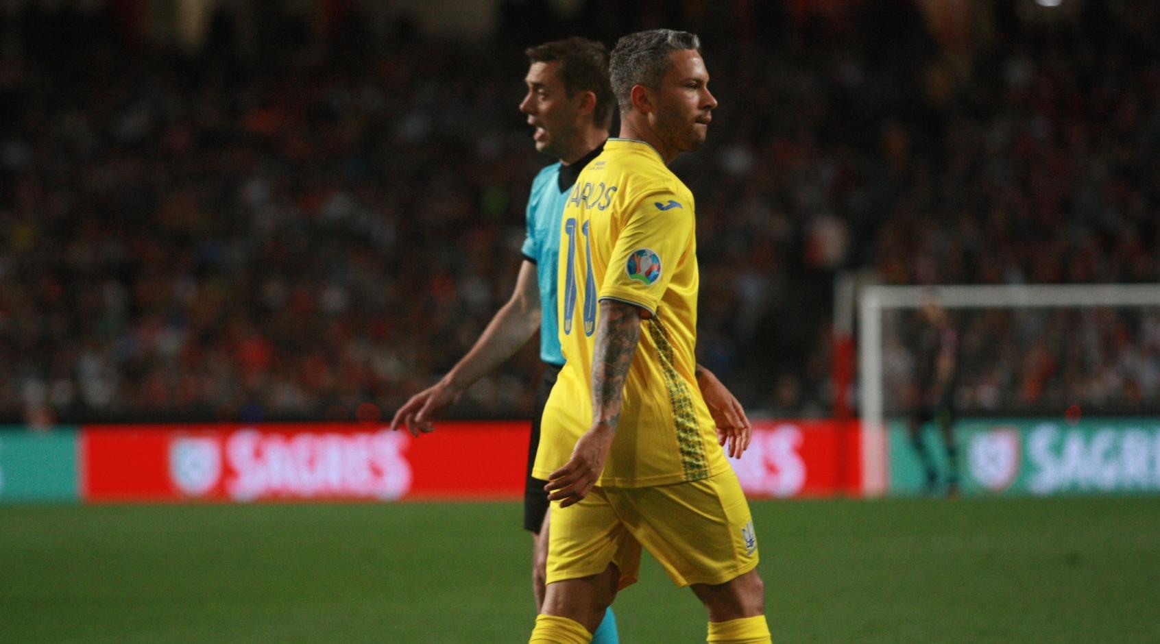 Марлос забил свой дебютный гол за сборную Украины