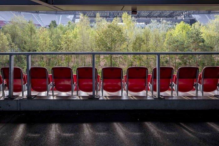 """Фото дня: 30-тысячный стадион, """"заселенный"""" лесом - изображение 1"""