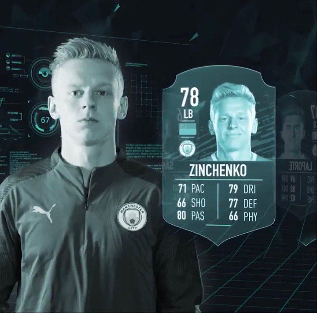 Стал известен рейтинг Александра Зинченко в FIFA 20 - изображение 1