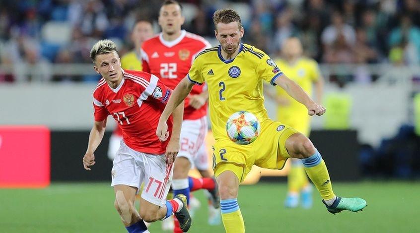 Россия – Казахстан 1:0. Вымучили