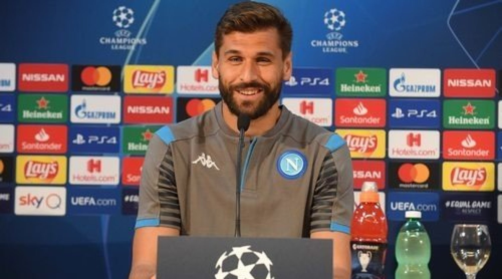 """Фернандо Льоренте: """"Наполи"""" может навести шороху в Лиге чемпионов в этом сезоне"""""""