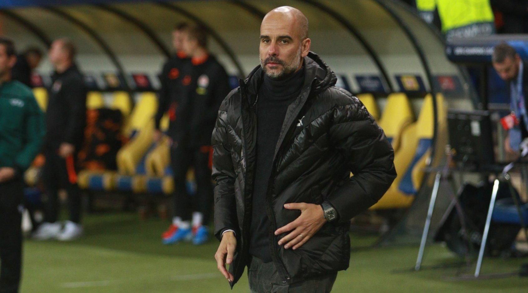 """Хосеп Гвардиола: """"Возможно, нам удастся надавить на """"Ливерпуль"""" посильнее"""""""