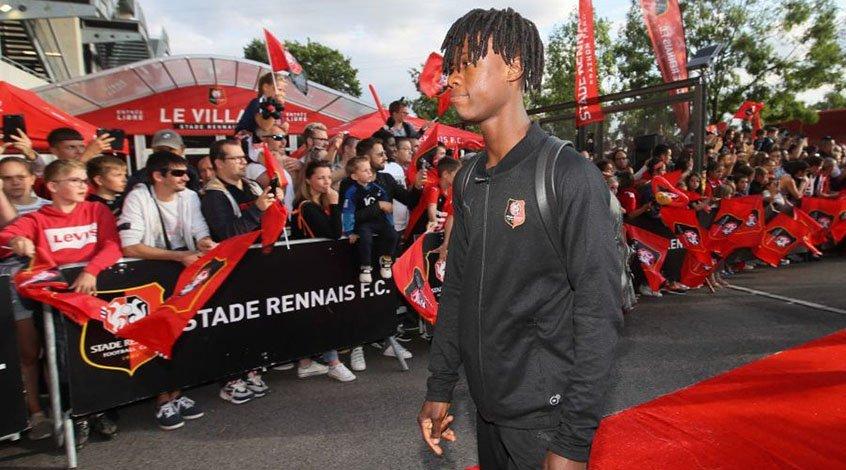 Камавинга – самый юный игрок месяца в Лиге 1