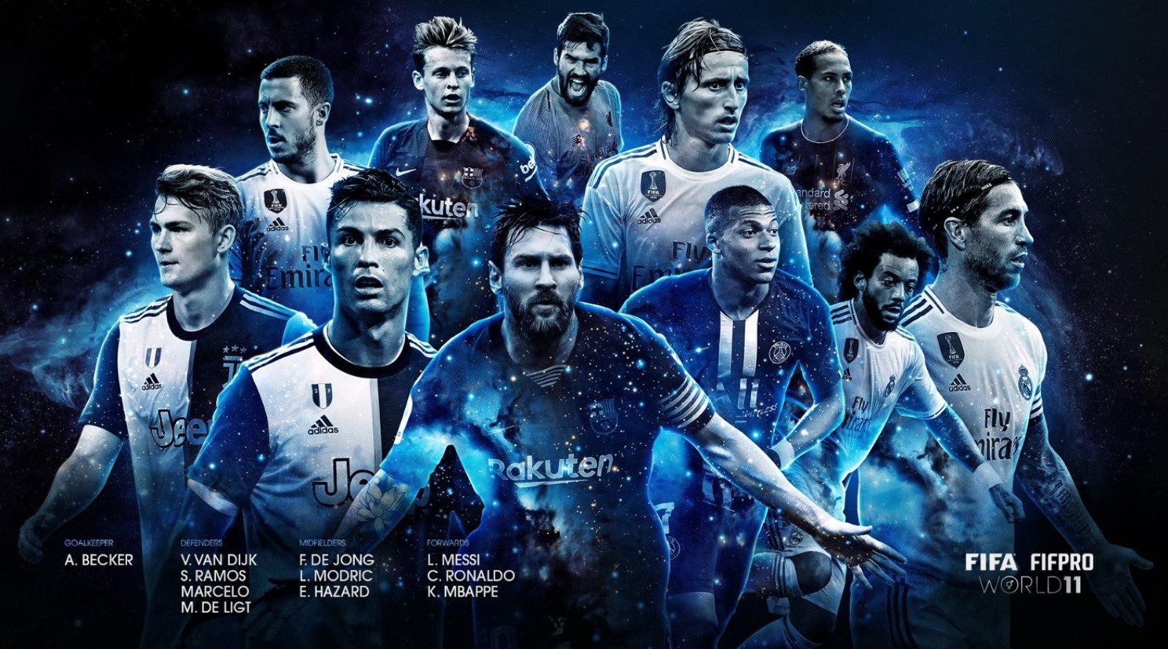 ФИФА назвала команду года