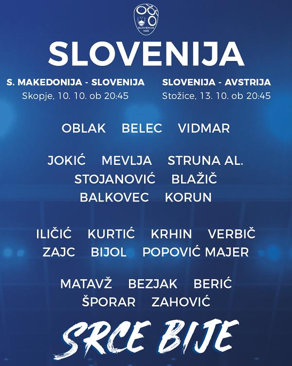 Беньямин Вербич вызван в сборную Словении - изображение 1