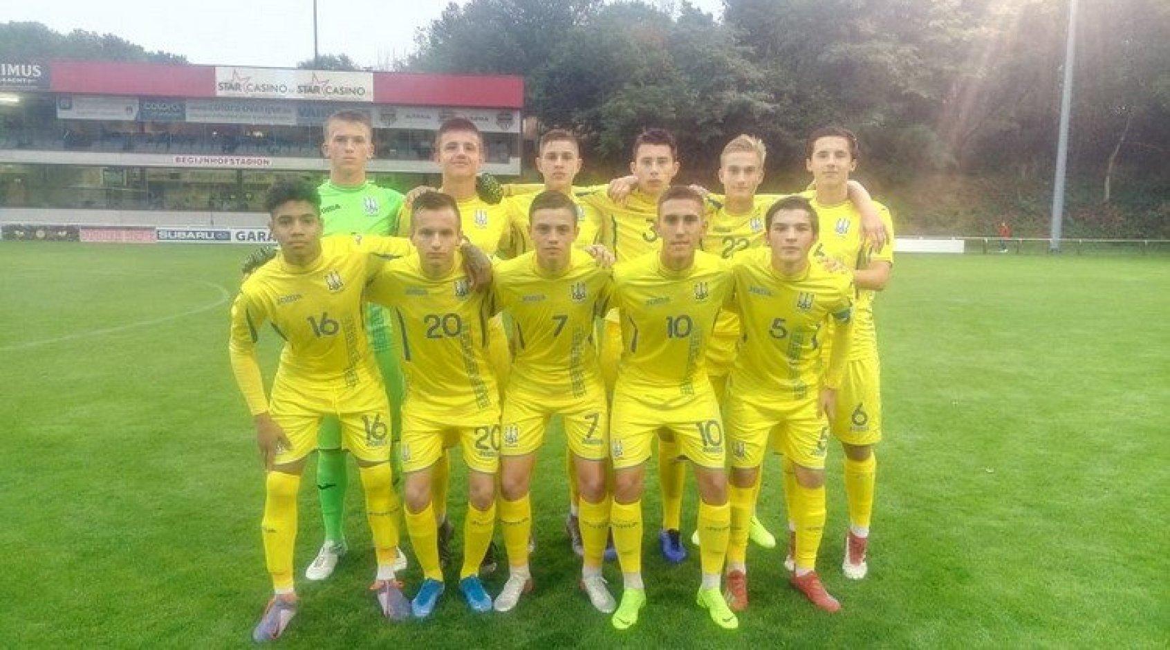 Товариський матч. Бельгія (U-16) - Україна (U-16) 2:0. Бліц-криг