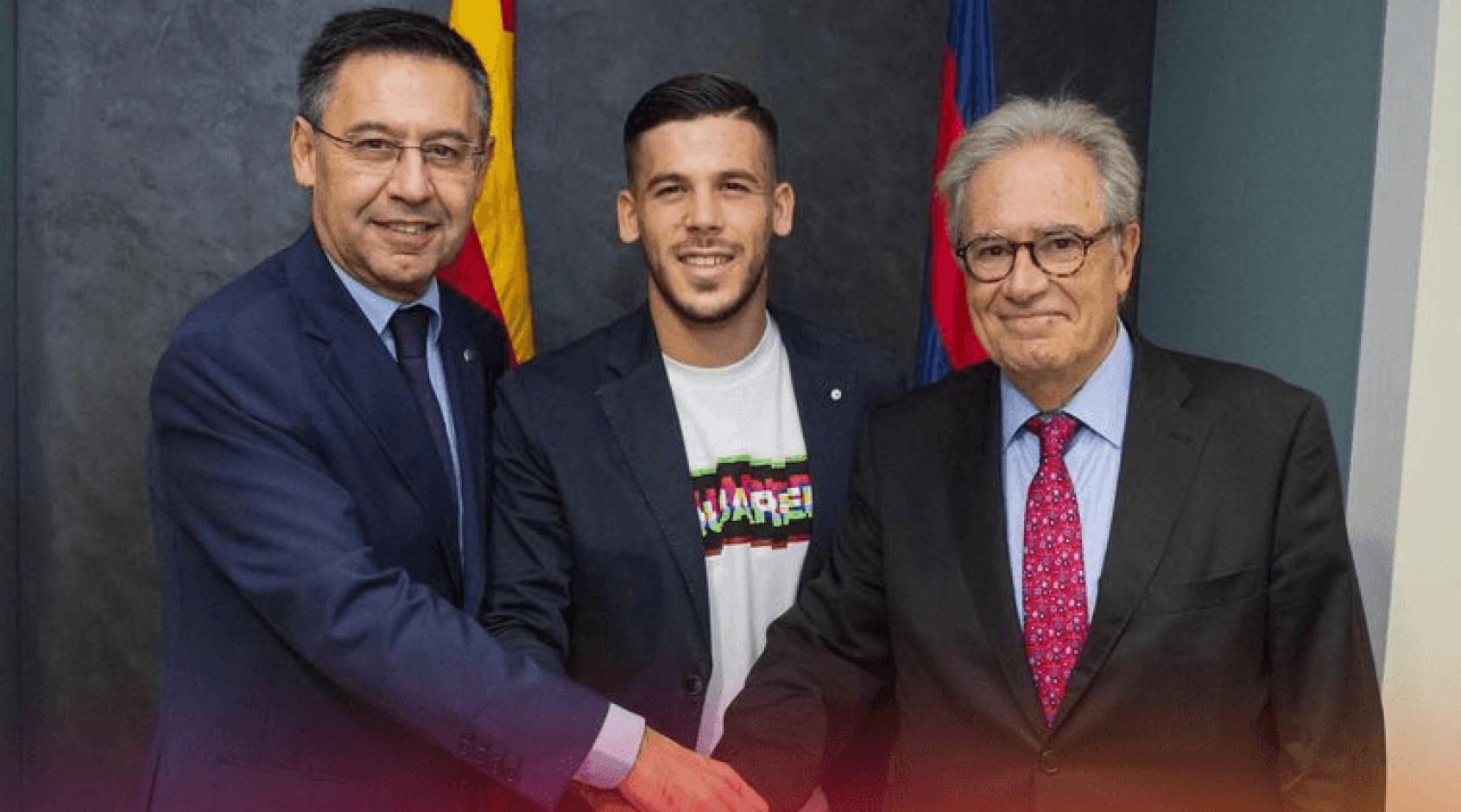 """Официально: """"Барселона"""" продлила контракт с Карлесом Пересом"""